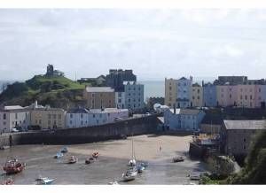 Harbourfront in Tenby - photo by Stacey Gillard